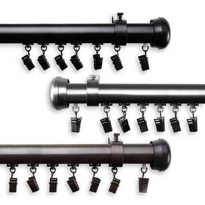 Edison Cordless Traverse Rod - Overstock