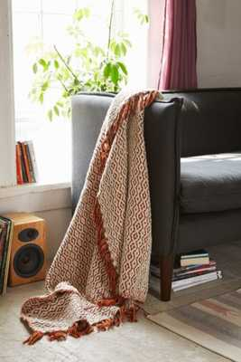 Magical Thinking Valentine Throw Blanket - Dark Orange - Urban Outfitters