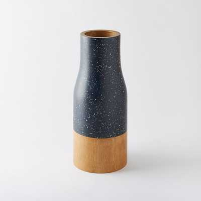 """Speckled Wood Vases -  Tall (14"""") - West Elm"""