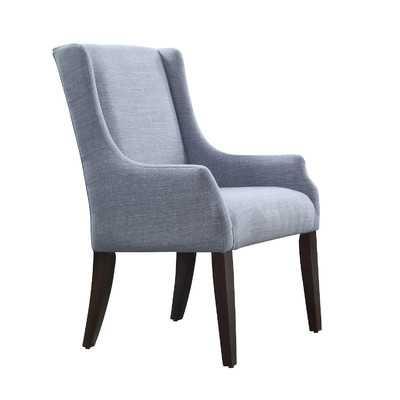 Mandala Linen Sloped Arm Chair - Wayfair