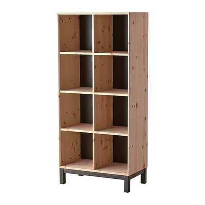"""NORNÃ""""S Bookcase, pine, gray - Ikea"""