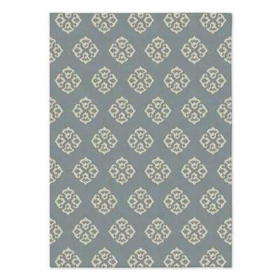 Andalusia Wool Dhurrie - West Elm