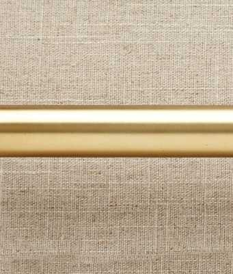 "Becket Adjustable Rod & Bracket - Antique Brass - 102""-144"" - countrycurtains.com"