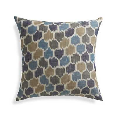 "Vargas 20"" Pillow with Feather-Down Insert - Crate and Barrel"
