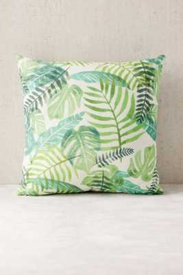 Assembly Home Printed Palms Pillow - 18Sq. - Urban Outfitters