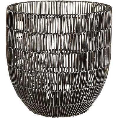 Heavy metal small basket - CB2