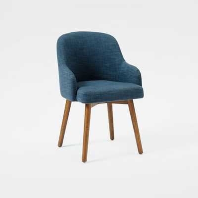 Saddle Dining Chairs - Individual - Regal Blue - West Elm