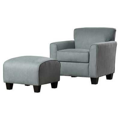 Phyllis Arm Chair & Ottoman Set - Wayfair