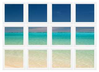 """Seascape, Set of 12 - 67"""" x 49"""" - Framed - One Kings Lane"""