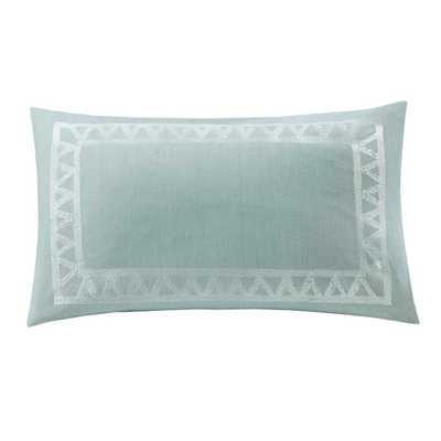 Mykonos Cotton Lumbar Pillow - 12x20, With Insert - AllModern