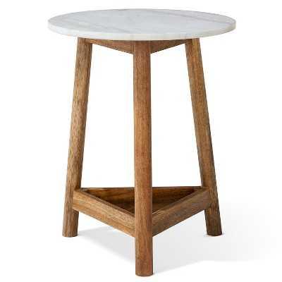 "Lanham Marble Top Side Table - Thresholdâ""¢ - Target"