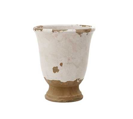 TUSCAN CACHEPOT - Pottery Barn