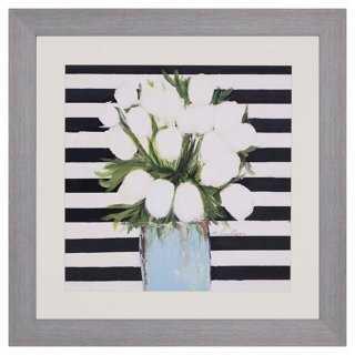 Lyons, White Tulips - One Kings Lane
