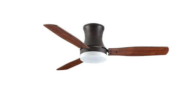 TroposAir ModernAire Flush-Mount Hugger Ceiling Fan - Amazon