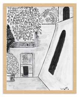 "Wayne Pate, House on Patmos -20"" x 24""-Framed - One Kings Lane"