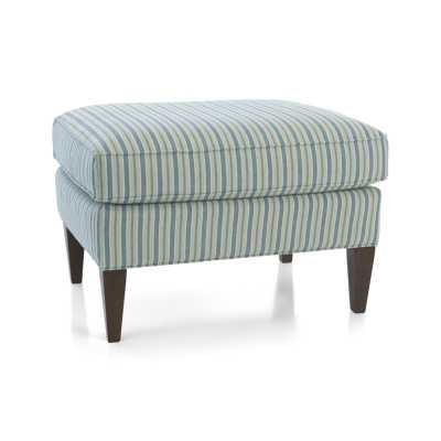 Elyse Ottoman - Crate and Barrel