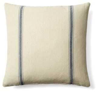 Stripe Cotton Pillow - One Kings Lane