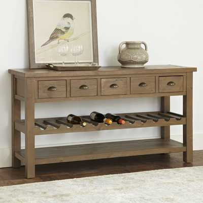 Seneca Wine Console Table - Birch Lane