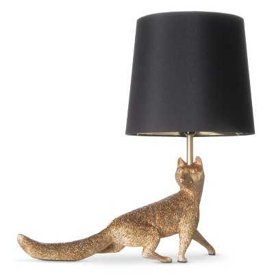Fox Figural Table Lamp (Includes CFL Bulb) - Target