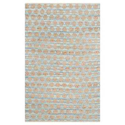 Safavieh Caleb Area Rug - Blue/Natural, 4x6 - Target