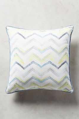 Majorcan Garden Pillow - 18x18 - With Insert - Anthropologie