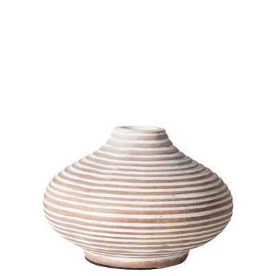 "Torre & Tagus Columbo Mini Vase White - 3.75"" - Target"