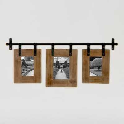 Jacob 3-Photo Wall Frame - World Market/Cost Plus