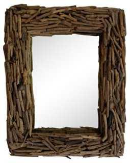 Driftwood Mirror - One Kings Lane