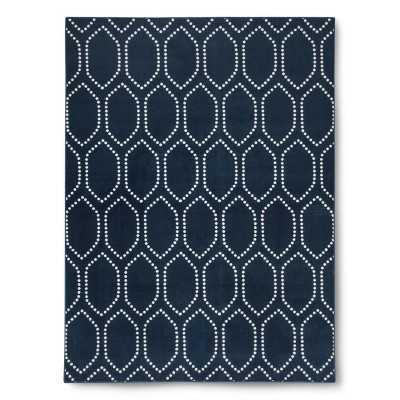 Dot Tile Rug - Blue - 7' x 10' - Target