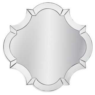 "32"" Quatrefoil Modern Mirror - Clear - One Kings Lane"