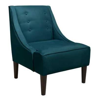 Mystere Upholstered Swoop Arm Chair - AllModern