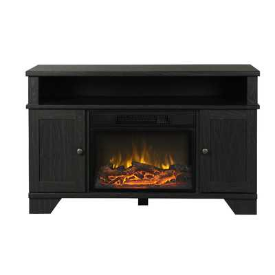 Hamilton TV Stand with Electric Fireplace - Wayfair