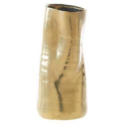 Tegan Vase - Matte Gold - Target