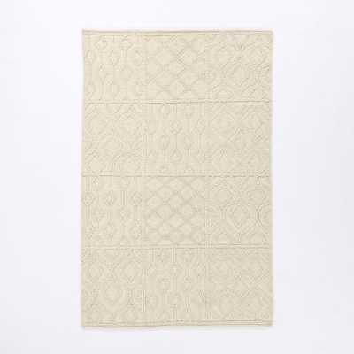 Variegated Knot Wool Rug - West Elm