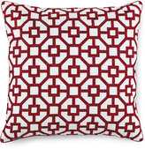 "Hotel Collection Embroidered Frame Pillow - 18"" Square - Macys"