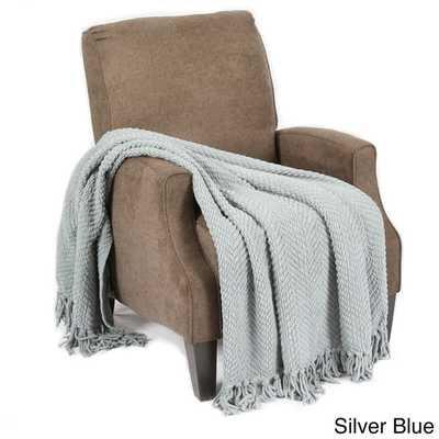 BOON Knitted Tweed Throw Couch Throw - Overstock