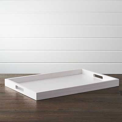 Zuma Rectangular Tray - Crate and Barrel