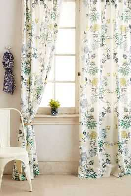 "Kalei Curtain - Blue - 50""W x 108""L - Anthropologie"