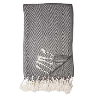Herringbone Throw Blanket - Wayfair