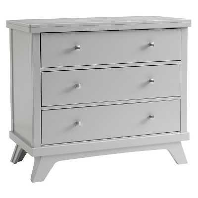 Sealy 3 Drawer Gray Mid Century Dresser - Adult & Baby - Target