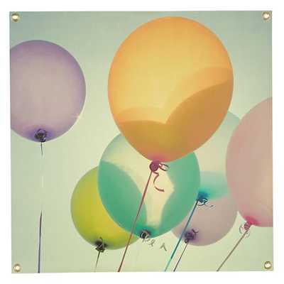 """Balloon Banner -24""""Wx24""""H-Unframed - Land of Nod"""