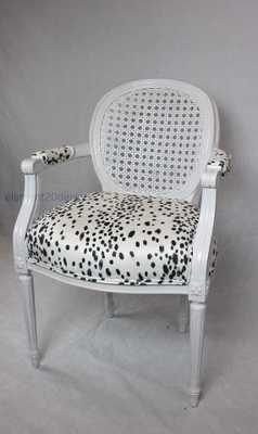 American Red Cross Vintage cane dalmatian chair - Etsy