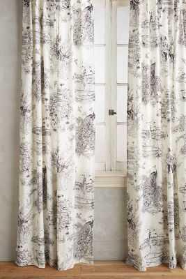 "Willowherb Curtain - 96""x50"" - Anthropologie"