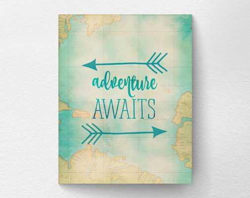 Adventure Awaits Print - 11 x 14 - Unframed - Etsy