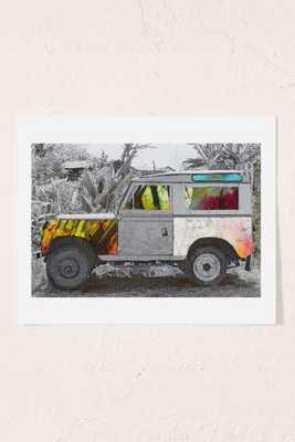 Adam Harteau Destination Unknown Art Print - 13x19 - Unframed - Urban Outfitters