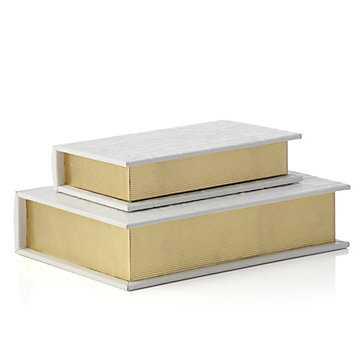 Gia Book Box - Set of 2 - Z Gallerie