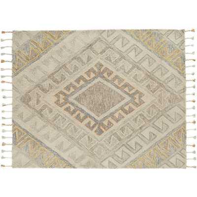 Faded shag rug 8'x10' - CB2