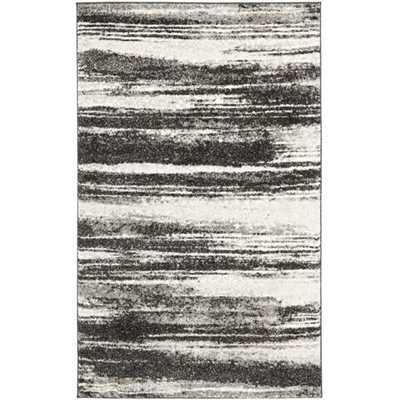 Safavieh Deco Inspired Dark Grey/ Light Grey Rug - Overstock