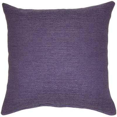 Grandstand Throw Pillow - 17x17 - Purple with insert - Wayfair
