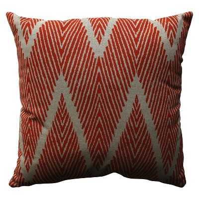 """Bali Toss Pillow Collection- 18"""" x 18""""- Mandarin- Polyester fill insert - Target"""